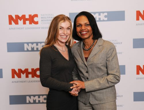 Rita Lancaster-Hannah Meets with Condoleezza Rice